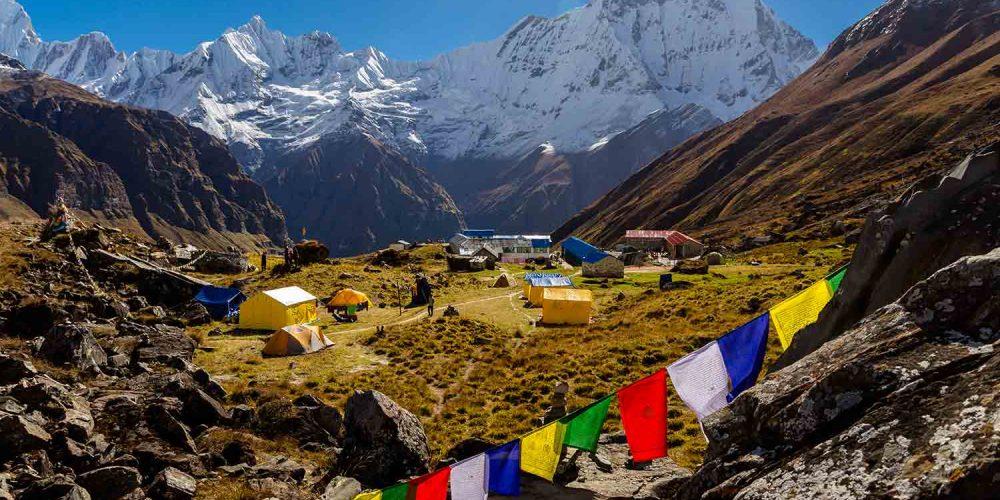 Randonnée aux Annapurnas
