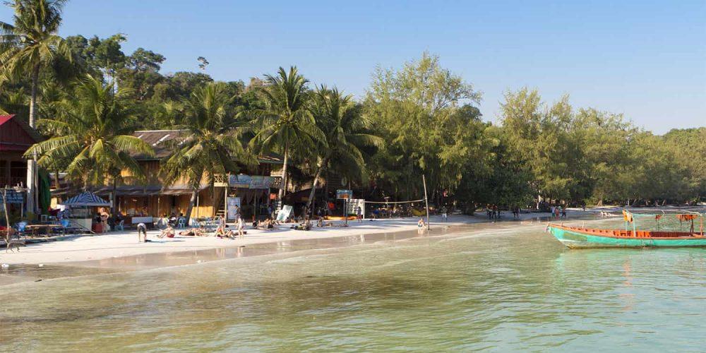 Extension balnéaire à Sihanoukville