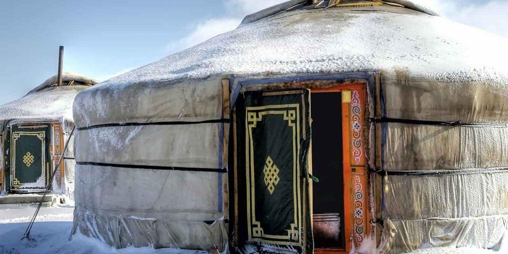 Séjour chez une famille nomade en hiver