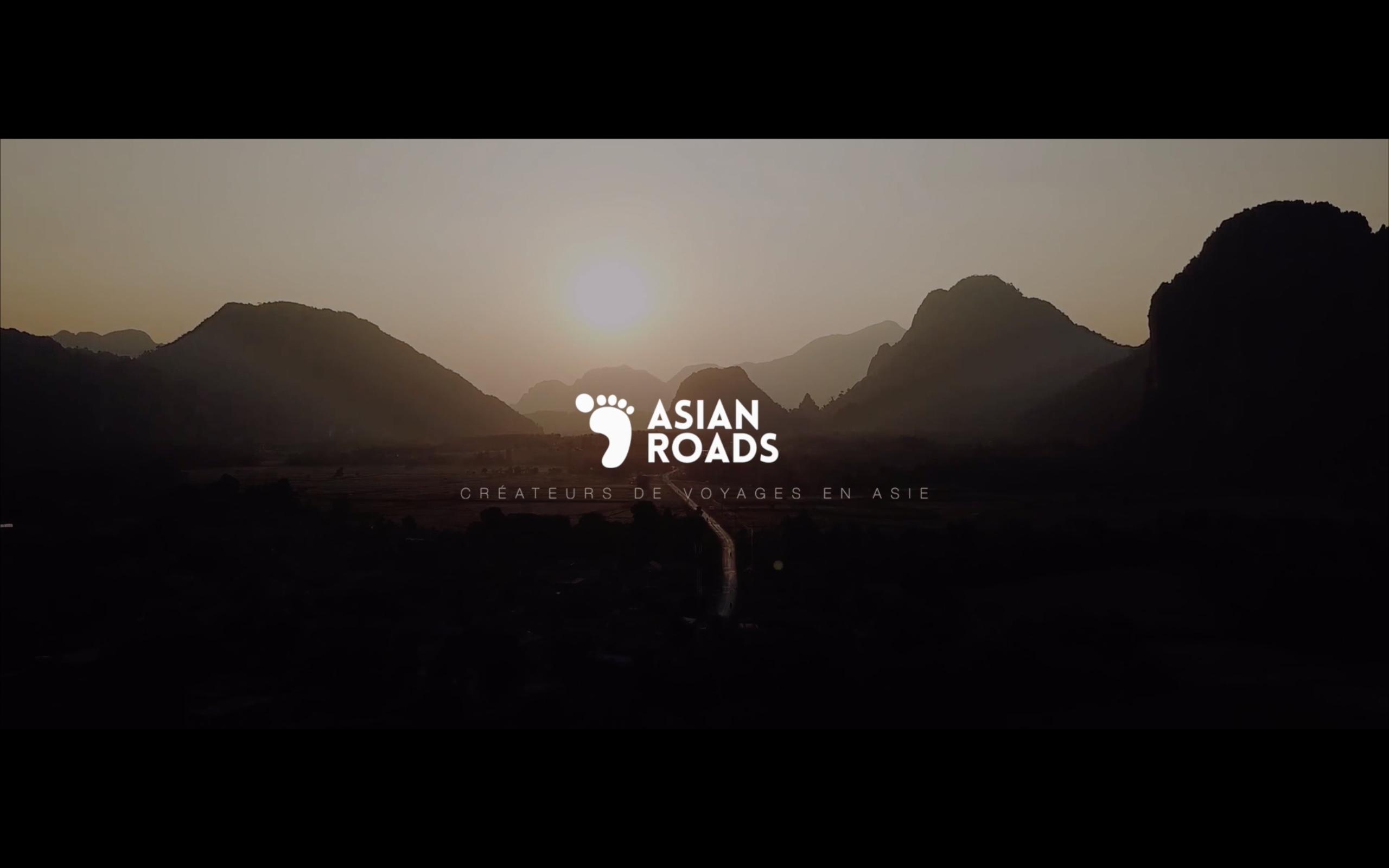 Vidéo Voyage Asian Roads