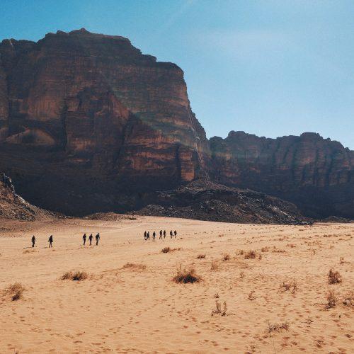 Randonnée en Jordanie
